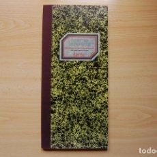 Coleccionismo Papel Varios: ANTIGUOS LIBROS DE OFICINA MIQUELRIUS. LIBRO REGISTRO E INGRESOS.. Lote 173214094