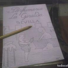 Coleccionismo Papel Varios: RECORTE PUBLICIDAD AÑO 1919 - PERFUMERIA LA GIRALDA - SEVILLA . Lote 173463325