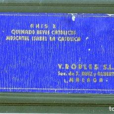 Coleccionismo Papel Varios: LIBRITO DE NOTAS=PUBLICIDAD DE SUCESOR DE J.RUIZ Y ALBERT-ANIS X-QUINADO REYES CATOLICOS = .. Lote 173491274