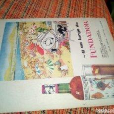 Coleccionismo Papel Varios: RECORTE PRENSA PUBLICIDAD FUNDADOR. Lote 173575890