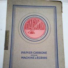 Coleccionismo Papel Varios: DAGRON. PAPEL CARBON. PARA MAQUINA DE ESCRIBIR.. Lote 173577688