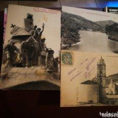 Coleccionismo Papel Varios: LOTE 17 FOTOS Y POSTALES MUY ANTIGUAS. Lote 173666364