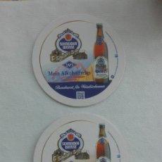 Coleccionismo Papel Varios: POSAVASOS CERVEZA - SCHNEIDER WEISSE - MEIN ALKOHOLFREIES. Lote 173674299