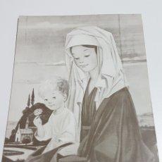 Coleccionismo Papel Varios: DÍPTICO ILUSTRADO POR JOSÉ LUIS - NIÑO JESÚS NAVIDAD - EDICIONES GAISA 1038/C - MEDIDAS 136 X 192 MM. Lote 173703553