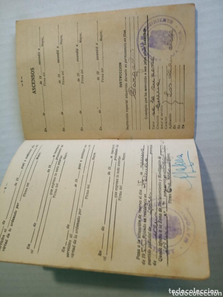 Coleccionismo Papel Varios: Cartilla militar - Foto 5 - 173870759