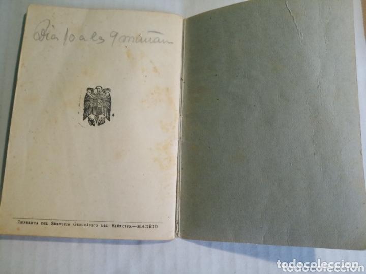 Coleccionismo Papel Varios: Cartilla militar - Foto 7 - 173870759