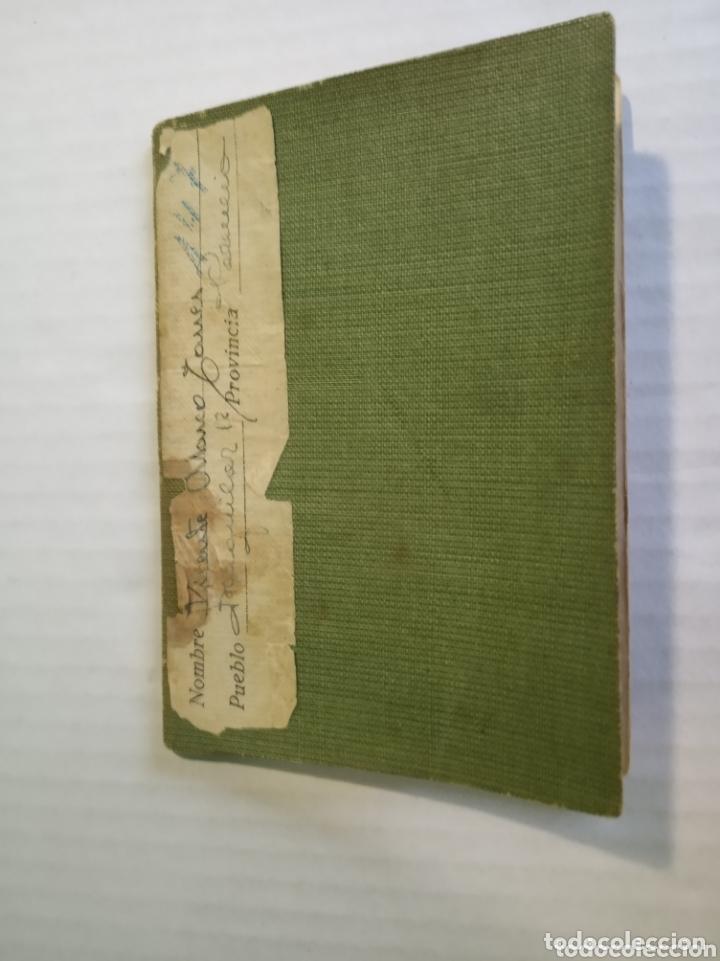 Coleccionismo Papel Varios: Cartilla militar - Foto 8 - 173870759