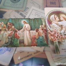 Coleccionismo Papel Varios: ANTIGUAS ESTAMPAS RELIGIOSAS SANTA CATALINA DEL MONTE VERDOLAY MURCIA . Lote 173955319