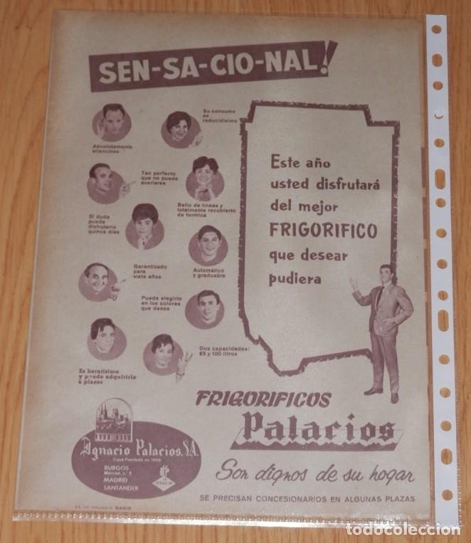 PUBLICIDAD DEL AÑO 1961 (Coleccionismo en Papel - Varios)