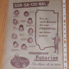 Coleccionismo Papel Varios: PUBLICIDAD DEL AÑO 1961. Lote 174028944