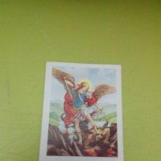 Coleccionismo Papel Varios: SAN MIGUEL ARCAGEL. ( QUIEN COMO DIOS). EXORCISMO. C8CR. Lote 174170428