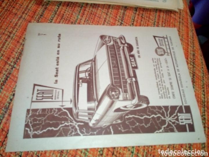 RECORTE PRENSA PUBLICIDAD SEAT (Coleccionismo en Papel - Varios)