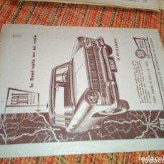 Coleccionismo Papel Varios: RECORTE PRENSA PUBLICIDAD SEAT. Lote 174233430