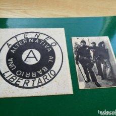 Coleccionismo Papel Varios: PANFLETO Y FOTO ATENEO LIBERTARIO. AÑOS 80. Lote 174253527