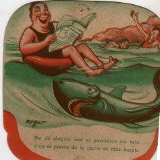 Coleccionismo Papel Varios: ANTIGUO PAY PAY PUBLICIDAD AL DORSO. Lote 174259269