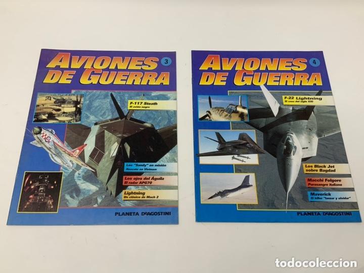 Coleccionismo Papel Varios: AVIONES DE GUERRA Nº 1,2,3,4 MÁS SUPLEMENTO PLANETA-DE AGOSTINI AÑO 1995 - Foto 2 - 174301724