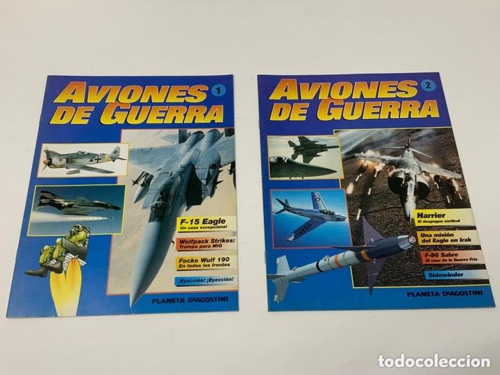 AVIONES DE GUERRA Nº 1,2,3,4 MÁS SUPLEMENTO PLANETA-DE AGOSTINI AÑO 1995 (Coleccionismo en Papel - Varios)