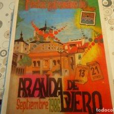 Coleccionismo Papel Varios: PROGRAMA DE FIESTAS DE ARANDA AÑO 1986. Lote 174336993