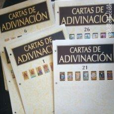 Coleccionismo Papel Varios: CARTAS DE ADIVINACIÓN. ORBIS FABBRI. Lote 174567667