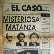 Coleccionismo Papel Varios: EJEMPLAR EL CASO MUNDIAL Nº 22, 6 FEBRERO 1988. Lote 174971404