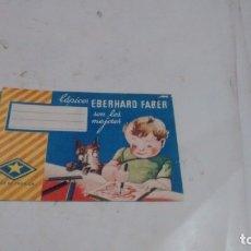 Coleccionismo Papel Varios: PROPAGANDA ANTIGUAS - LAPICES EBERHARD FABER -. Lote 175033249