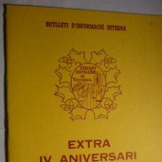 Coleccionismo Papel Varios: BOLETIN ETRA IV ANIV. ESBART DANSAIRE TARRAGONA - CATALAN NUM.6 ABRIL 1986. Lote 175432729
