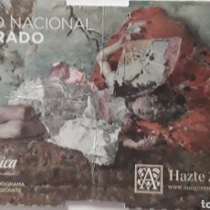 Coleccionismo Papel Varios: ENTRADA MUSEO DEL PRADO. Lote 175737939
