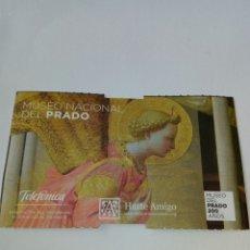 Coleccionismo Papel Varios: ENTRADA MUSEO DEL PRADO MADRID 2019. Lote 175989588