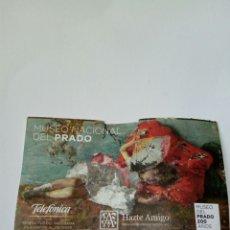 Coleccionismo Papel Varios: ENTRADA MUSEO DEL PRADO MADRID 2019. Lote 175989633