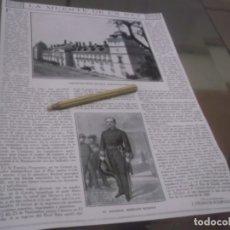 Coleccionismo Papel Varios: RECORTE AÑO 1918 - LO QUE FUE LA MUERTE DE UN REY (ALFONSO XII) (DE LAS MEMORIAS DE UN GACETILLERO). Lote 176081778