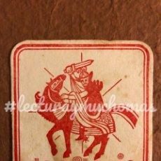 Coleccionismo Papel Varios: ANTIGUO POSAVASOS DEL DON FLAVIO. 8 X 8 CMS. PAPEL TIPO CARTULINA.. Lote 176222672