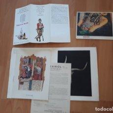 Coleccionismo Papel Varios: PANFLETOS, FOLLETOS, PUBLICIDAD ANTIGUOS DE MEDICINA.. Lote 176339735
