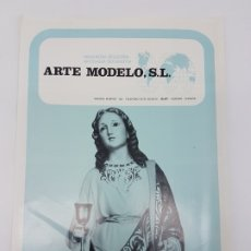 Coleccionismo Papel Varios: CATÁLOGO IMÁGENES OLOT ( ARTE MODELO S.L ) MODELOS DEL SIGLO XIX ( ED. 1975 ). Lote 176378067