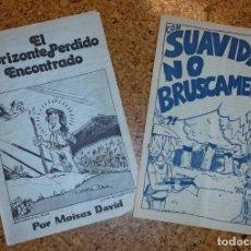 Coleccionismo Papel Varios: PUBLICACIONES MOISÉS DAVID, MO. Lote 176547359
