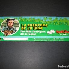 Coleccionismo Papel Varios: CARPETA LA AVENTURA DE LA VIDA - FÉLIX RODRÍGUEZ DE LA FUENTE - KALKITOS EDICIÓN ESPECIAL - 1977. Lote 176681455