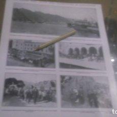 Coleccionismo Papel Varios: RECORTE AÑOS 1929/30 -(CANARIAS)VISITA JEFE GOBIERNO A CANARIAS,ATRAS REPORTAJE EN ZARAGOZA. Lote 176926277