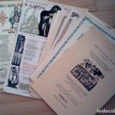 Coleccionismo Papel Varios: LOTE DE 25 GOIGS DE 1970. Lote 177282339