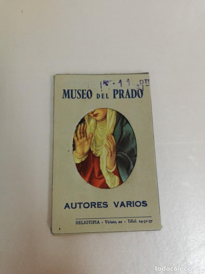 20 RECORDATORIOS REPRODUCCIONES DEL MUSEO DEL PRADO. AUTORES VARIOS. (Coleccionismo en Papel - Varios)