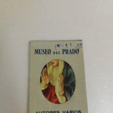 Coleccionismo Papel Varios: 20 RECORDATORIOS REPRODUCCIONES DEL MUSEO DEL PRADO. AUTORES VARIOS.. Lote 177282794