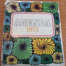 Coleccionismo Papel Varios: AGENDA 1971. Lote 177424550