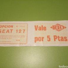 Coleccionismo Papel Varios: SEAT 127. Lote 177749758