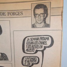Coleccionismo Papel Varios: # # HOMENAGE # FORGES # LOTE # EL LIBRO DE FORGES # ·3 TAZAS CON DIBUJOS # VIÑETAS PUBLICADAS #. Lote 177867939