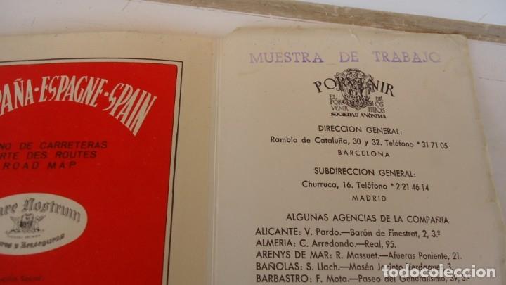 Coleccionismo Papel Varios: MAPA DE CARRETERAS PORVENIR - Foto 2 - 178168130