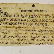 Coleccionismo Papel Varios: ÚNICA COLECCIÓN DE 55 CABECERAS DE PAPEL TIMBRADO. DE 1721 EN ADELANTE. BUEN ESTADO. Lote 178172776