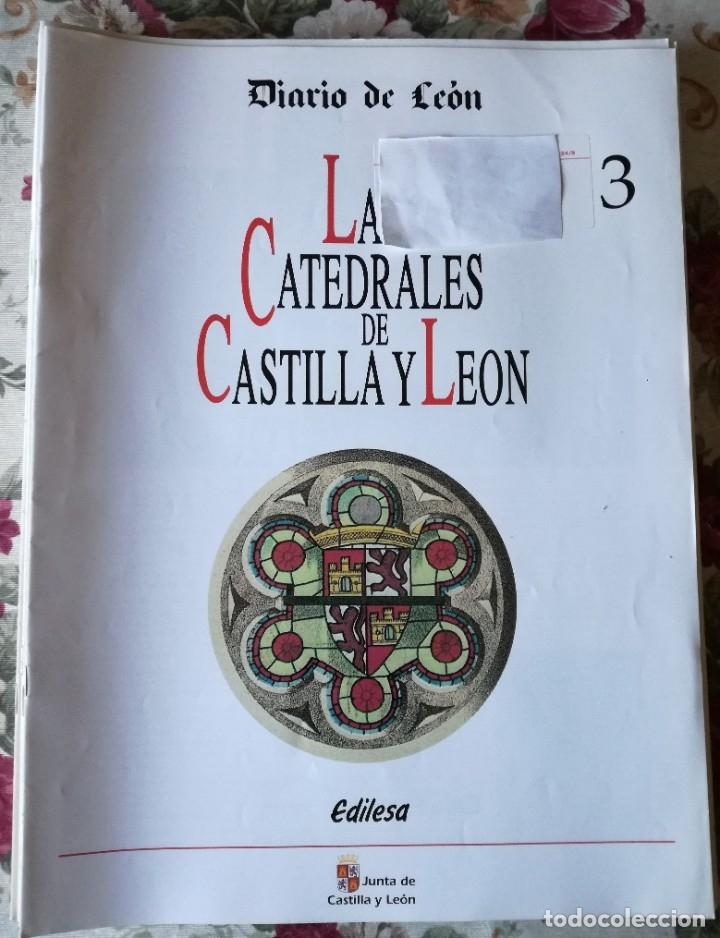 LAS CATEDRALES DE CASTILLA Y LEÓN 16 FASCÍCULOS GRAN FORMATO 1993 DEL 3 AL 18 (Coleccionismo en Papel - Varios)