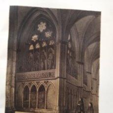 Coleccionismo Papel Varios: LEON CATEDRAL DE LEON NAVE LATERAL DE LA CATEDRAL DE LEON 1855. Lote 178638945