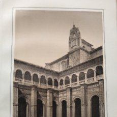 Coleccionismo Papel Varios: LEON CLAUSTRO DEL VONVENTO DE SANTIAGO 1855 . Lote 178640248