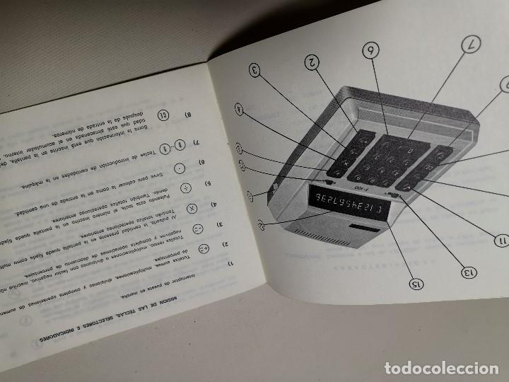 Coleccionismo Papel Varios: MANUAL INSTRUCCIONES CALCULADORA ELECTRONICA TRQ .F-100 (Talleres Radioelectricos Querol) TARRAGONA - Foto 6 - 178653990