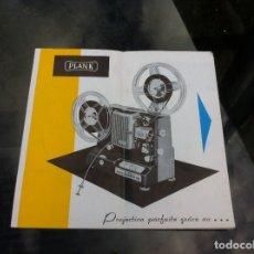 Coleccionismo Papel Varios: PLANK PROYECTOR NORIS 8 SUPER 50 / SUPER 100. Lote 178976788