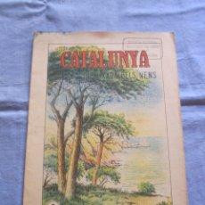 Coleccionismo Papel Varios: CUADERNO DE ESCUELA CATALUNYA DIBUIXADA PELS NENS - Nº 2 - PEDAGOGIA CATALANA. Lote 179391033